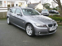 2009/59 BMW 330d SE Estate, High Soec with LEATHER~XENONS~FSH.