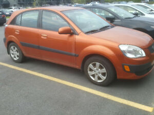 **AS IS**  Kia Rio5 2008 Hatchback 4 doors!