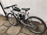 80cc moped / motorised bike