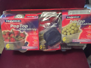 New 24 Piece Set of Containers w/ Lids