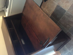 Old fashioned looking desk,