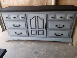 Dresser with matching night stand.