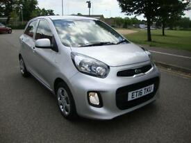 Kia Picanto 1 1.0 ( 68bhp ) 5-Dr 2016, Only 4100 Miles, Balance 7 Year Warranty