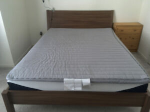 Ikea bed - Queen size