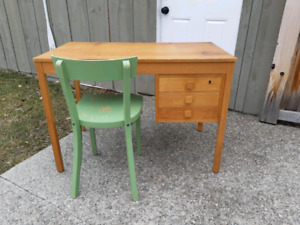 Vintage Desk and Chair *Delivery Available*