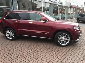 2016 Jeep Grand Cherokee V6 CRD SUMMIT ** 2016 MODEL ** Diesel red Automatic