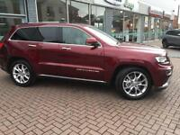 2016 Jeep Grand Cherokee V6 CRD SUMMIT Diesel red Automatic