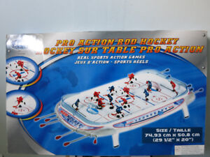 Franklin Pro Action Rod Hockey-Real Sports Action Games