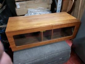 Lovely vintage wooden tv cabinet solid wood