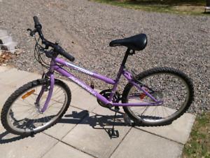 Vélo pour filles 24 pouces