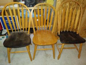 Chairs, $10. each