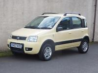 FIAT PANDA 1.2 4x4 5 DOOR FOUR WHEEL DRIVE 2007 07 REG WITH FSH