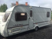 Lunar ultima eb 2005 fixed bed touring caravan