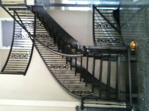 Chi Diep Glass Railing, Stairs, Hardwood Flooring Installation