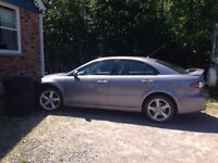 2006 Mazda 6 Hatchback manual AS IS
