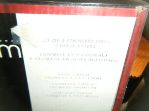 New Stainless Steele Cheese Knives Peterborough Peterborough Area image 2
