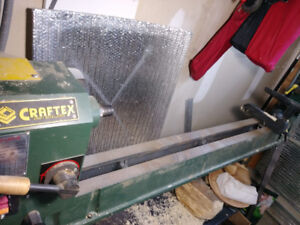 "43"" x 14"" Heavy Duty Wood Lathe , excellent condition"