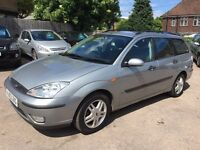 Ford Focus 1.6 petrol estate automatic 1 owner 12 months mot
