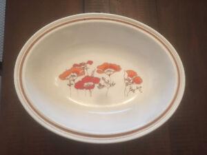"Royal Doulton Lambeth Pottery ""Fieldflower"" Dishes-see pics"