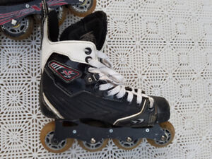ADJUSTABLE ROLLER BLADES SIZES 5 - PATINS ROUES ALLIGNEES