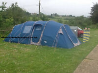 Regatta Premium 8 Berth Tunnel Tent In Very Good Condition + everything you need for camping!