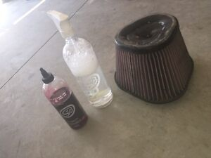 S&b reusable intake filter oiled/ cleaning kit