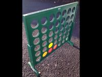 In door/out door large Connect Four game