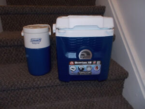 Brand New Cooler and Water Jug Package $15