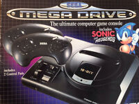 SEGA Mega Drive 16BIT BOXED with controllers and Games