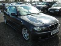 2004 54 BMW 3 SERIES 2.0 318CI SPORT 2D 141 BHP