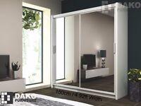 Wardrobe PARIS W:203 White