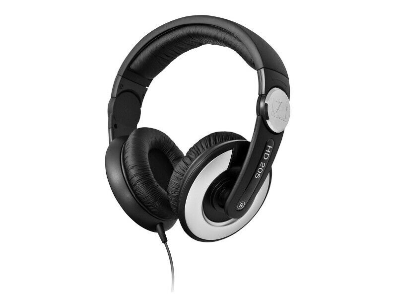 Sennheiser HD 205 II DJ Kopfhörer geschlossen - Kraftvoller Stereosound