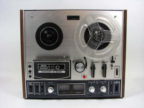 Akai 4400 Reel To Reel Stereo Convert a deck Tape Player Recorder