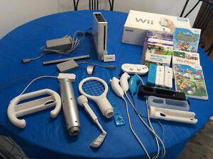 Complete Wii gaming console – VERY good condition !!!