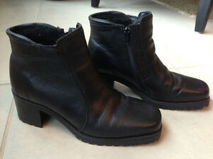 Black Winter Ankle Boots