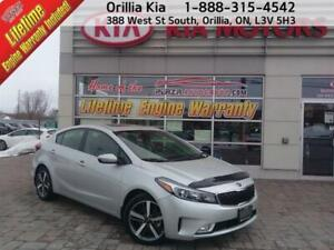 2017 Kia Forte SX Heated Front and Rear Seats, Nav, Leather
