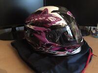2 LS2 Crash Helmets