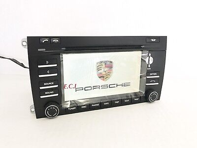 2009 2010 Porsche 95564297200 Cayenne S Turbo PCM3 Touch Screen HD Navigation OE