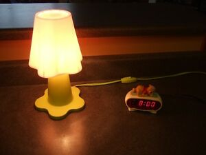 Winnie The Pooh Clock_Ikea Night Lamp_Like New Condition!