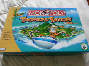 TROPICAL  TYCOON  MONOPOLY