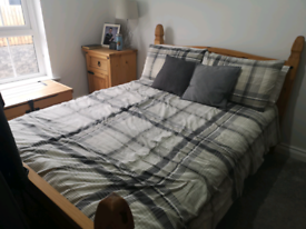 Double Bed - Light Pine