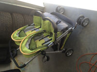 Zoopa tango double baby/toddler stroller