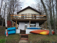 ►► ☼ PRIVATE LAKEFRONT COTTAGE----- FISH SWIM RELAX HERE ◄◄