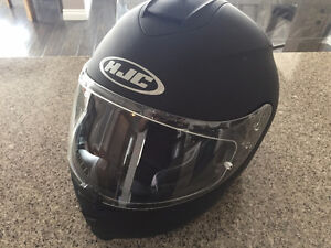HJC Flat Black Full Face Helmet