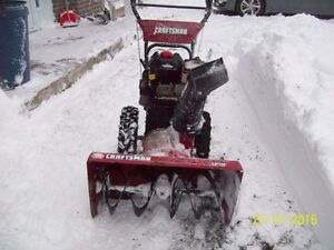 CRAFTSMAN 9.5 H.P. SNOWNBLOWER