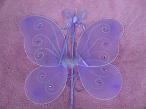 Butterfly wand and wings Kawartha Lakes Peterborough Area image 1