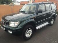 Toyota Land Cruiser Colorado 3.0 D-4D auto Vx 53000 miles immaculate !