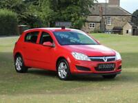 2009 09 VAUXHALL ASTRA 1.4 ACTIVE 16V TWINPORT 5D 90 BHP