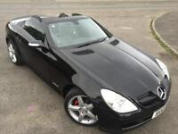 MERCEDES BENZ SLK 200 KOMPRESSOR 1.8 AUTO £48 WEEK FSH COUPE 2005