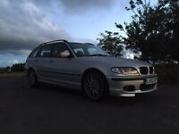 Bmw 330i msport touring 12 months MOT amazing condition